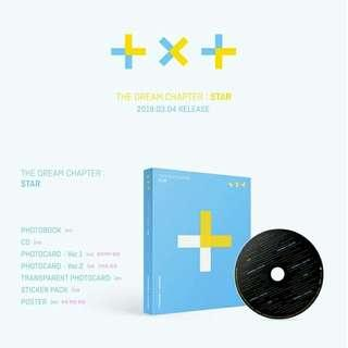 TXT THE DREAM CHAPTER : STAR DEBUT ALBUM