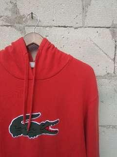 For Sale Hoodie Lacoste Big Logo