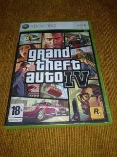 Xbox 360 Grand Theft Auto 4 GTA IV DVD GAME