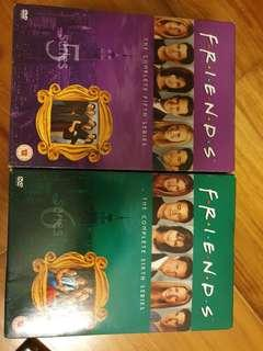 Friends series 1 to 10 DVD