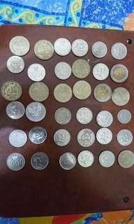 外國貨幣多枚