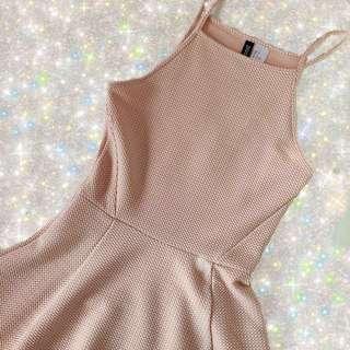 H&M Divided Halter Dress