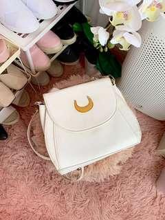 White Sailormoon Cat Sling Bag #SparkJoyChallenge