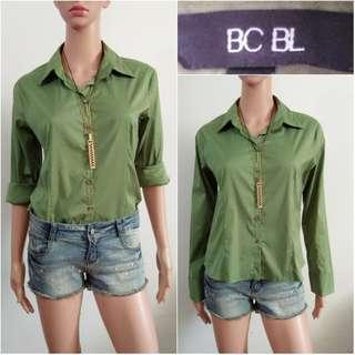 (S-M) BCBL green top