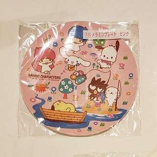 [日本限定] Sanrio 2019 最新一番賞 抽獎(13號) - Melamine Plate 碟