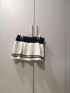 🚚 Sailor Skorts, Cosplay Student Pleated White Skirt