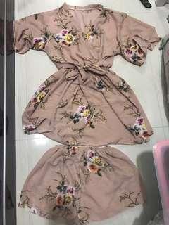 Kimono set - free size up to XL