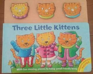Three Little Kittens Moving Nursery Rhymes