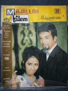 Rare MAJALAH FILEM (Bil.96) March 1968