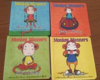 Monkey Manners Series (Set of 4 Books)