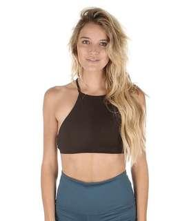🚚 Mika Yoga Pole Dance Lissa Top (Black, M size)