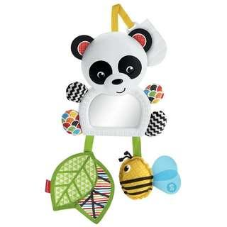 (In-Stock) Fisher-Price On-The-Go Panda Mirror (Brand New)