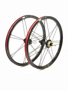 🚚 Lightweight 349 Wheelset for Brompton