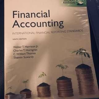 Financial accounting 書 textbook