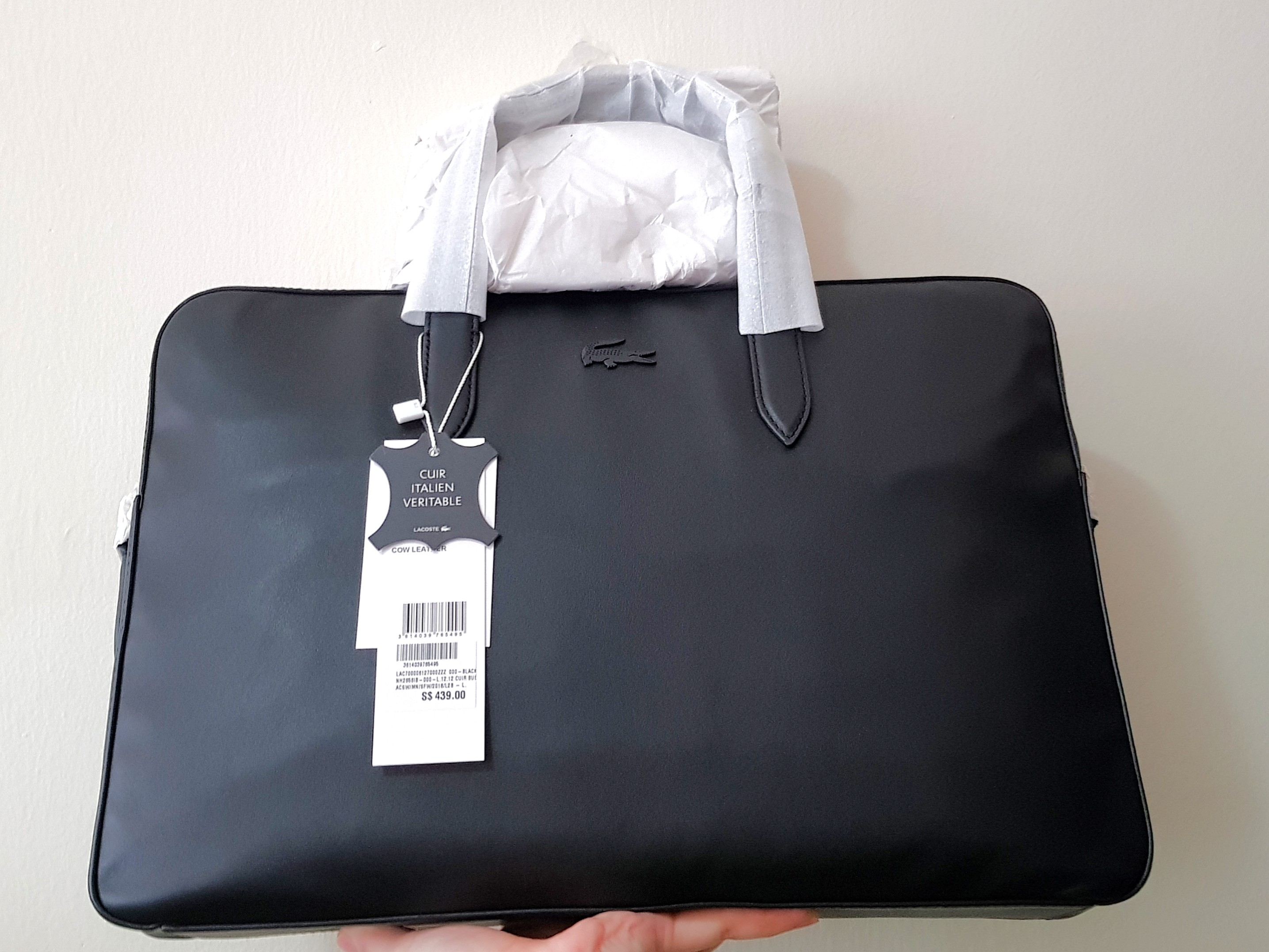 adf9d64de 280 ONLY. Lacoste Laptop Briefcase Hand   Sling Bag
