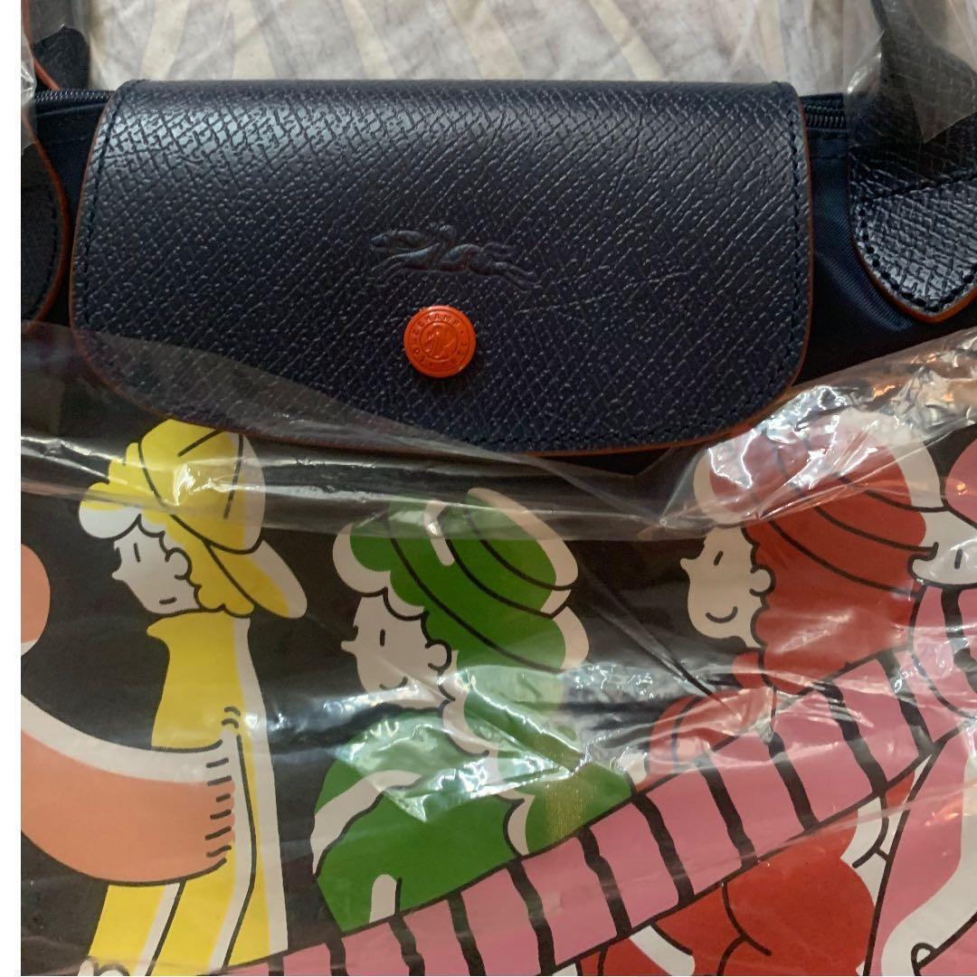 99% New!longchamp x clo'e floirat collection bag Large size