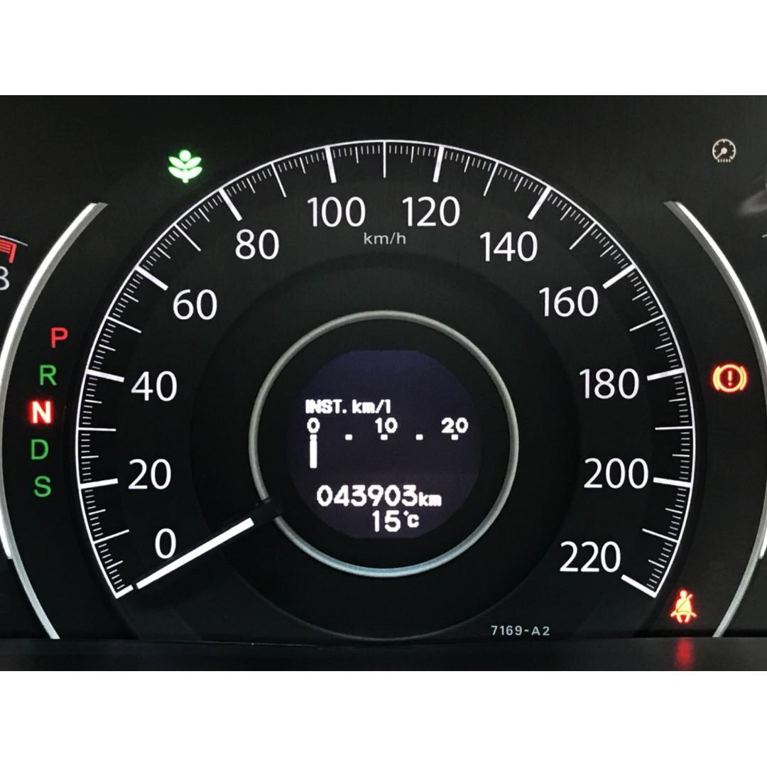 一手車 原鈑件 里程只跑4萬 內外如新 Honda CR-V 2.4 頂極版
