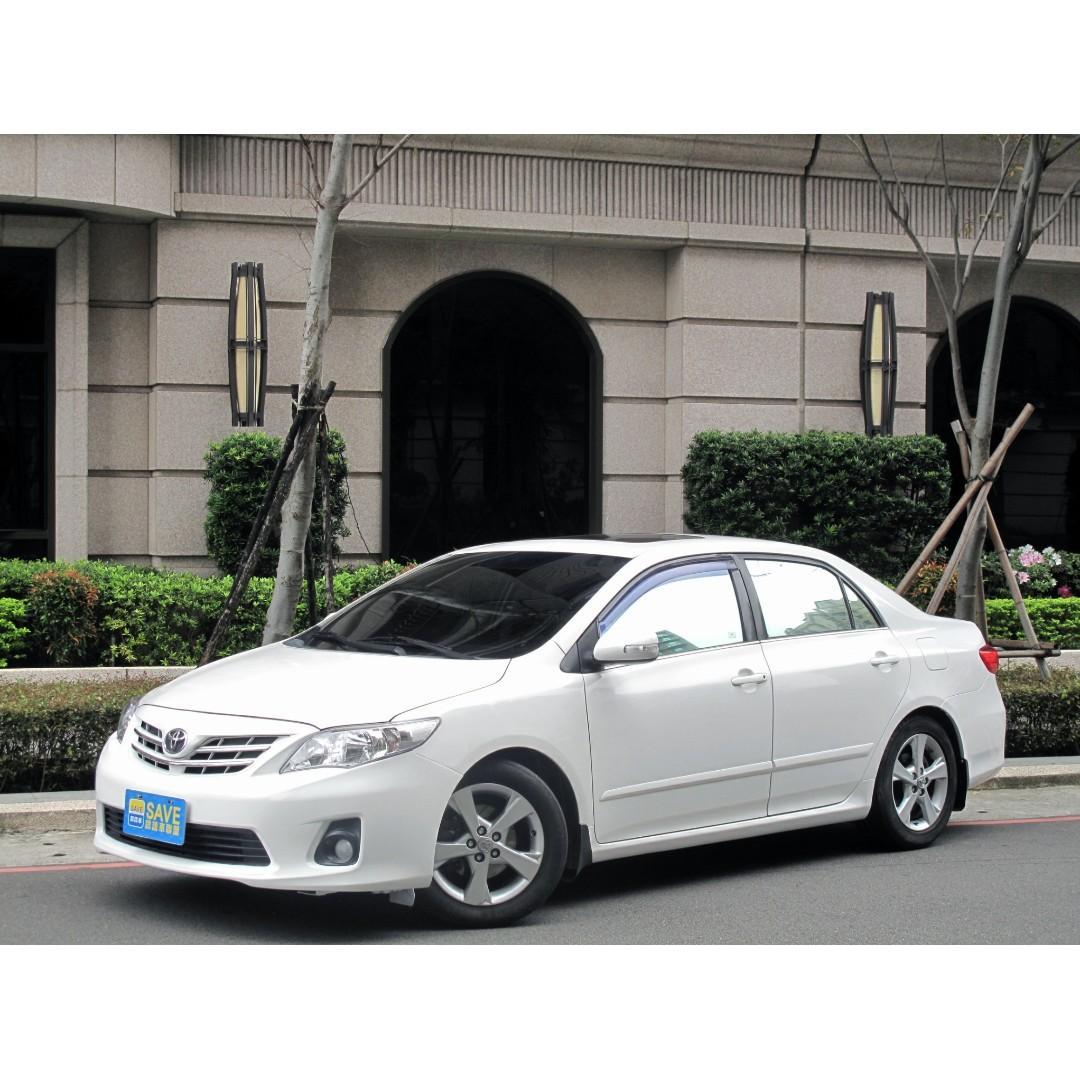 原鈑件 安卓螢幕 定速 倒車顯影 2010年 豐田 Altis 白色