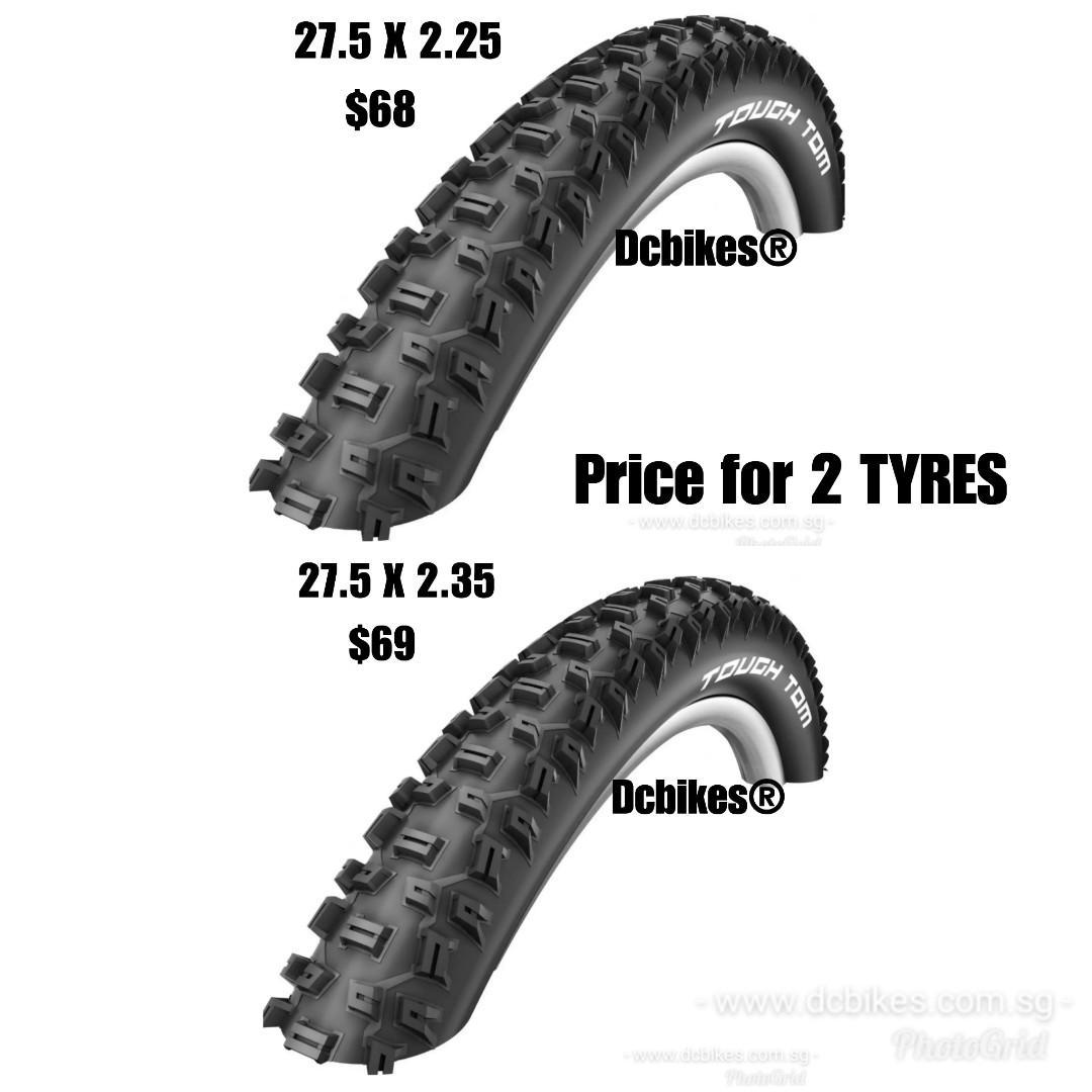 Schwalbe Tough Tom K-Guard Cross Country Tyre Black
