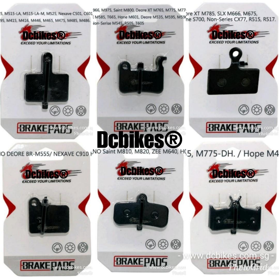 🆕! Various Model of Shimano Brake Pads Kevlar /Copper Resin