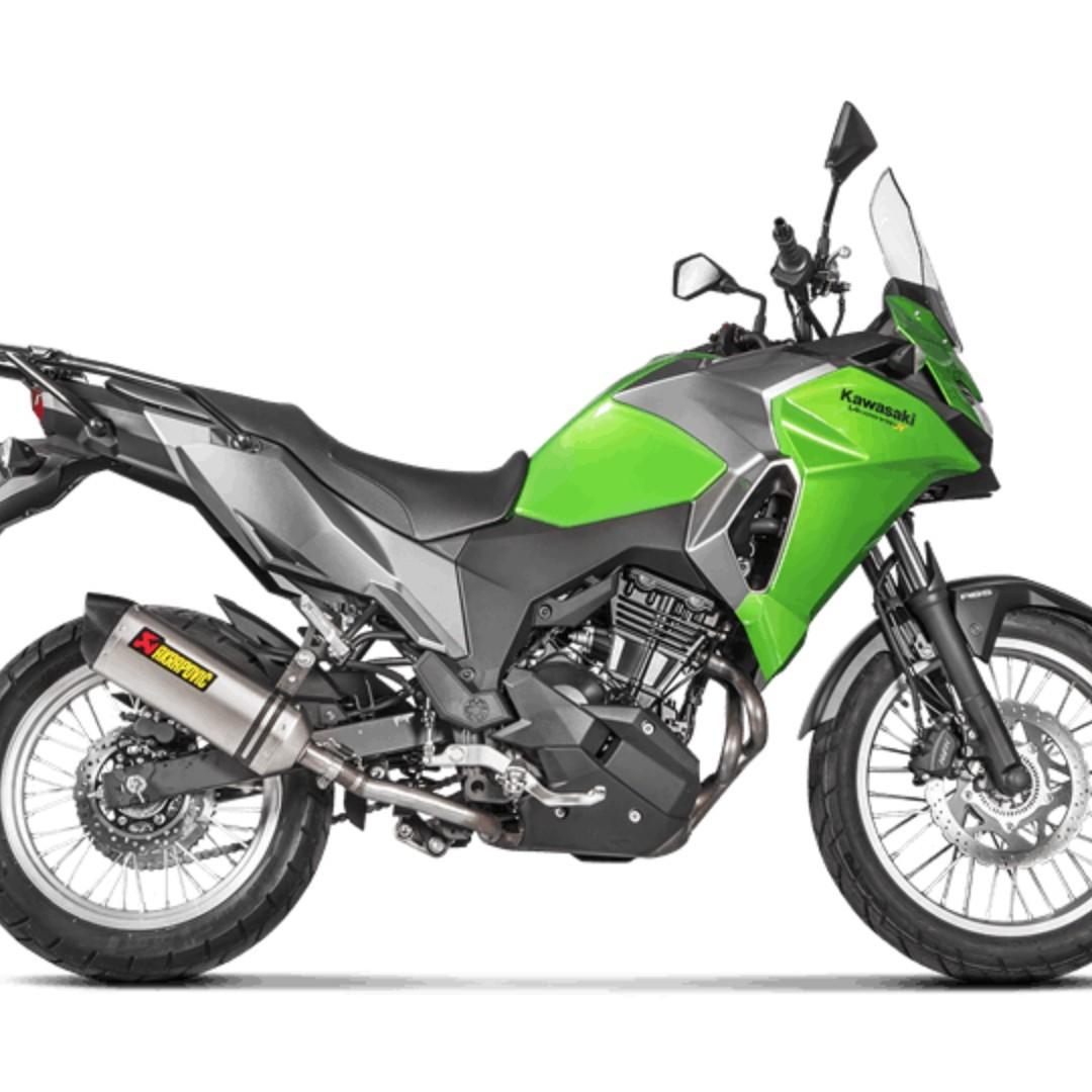Akrapovic Exhaust For Kawasaki Ninja400 Motorbikes Motorbike
