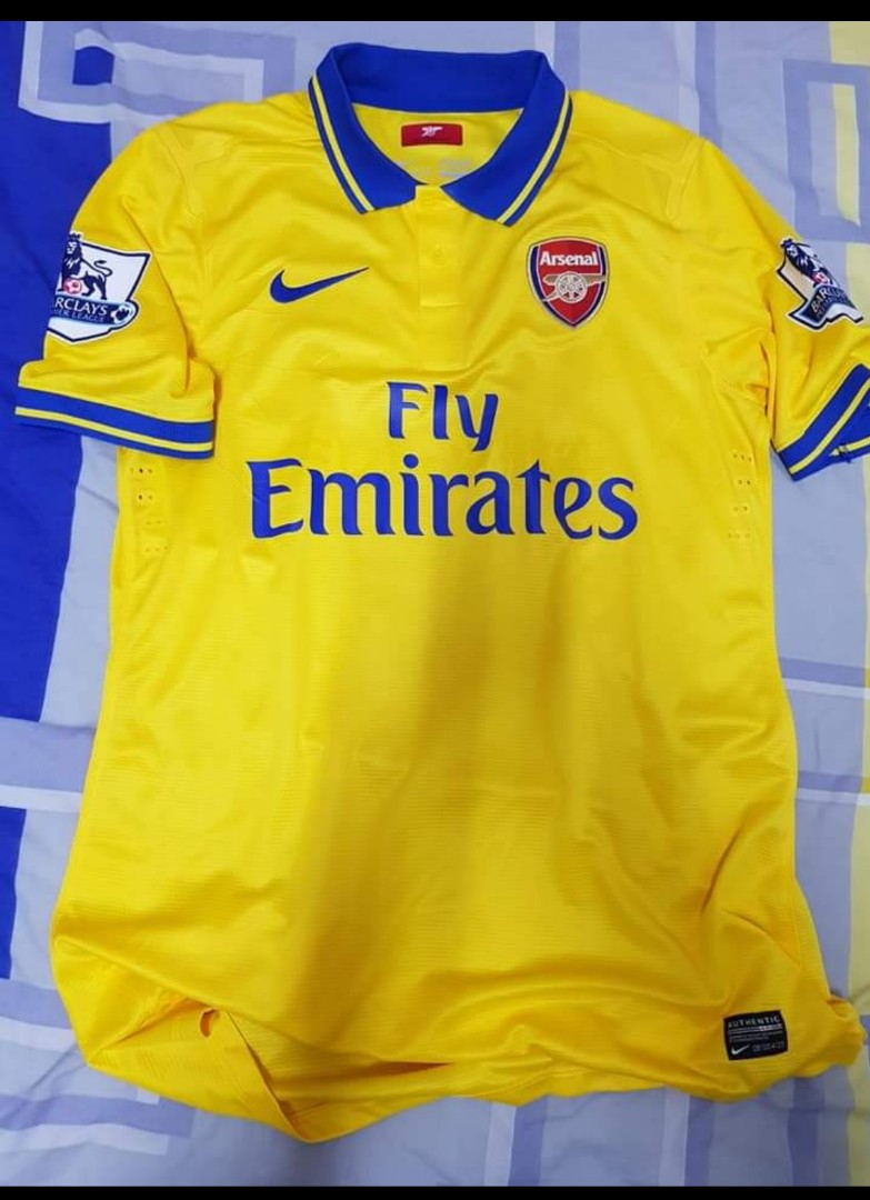 c925a924206 Arsenal away player issue Jersey