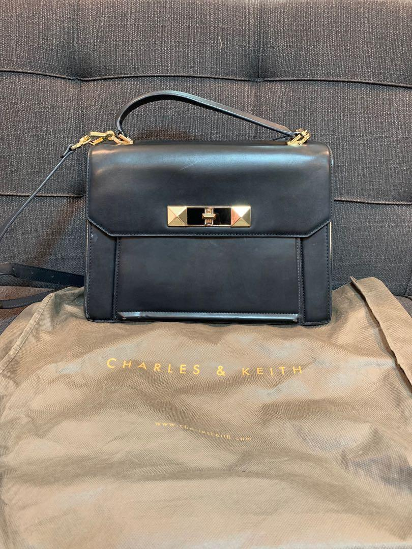Auth- Charles & Keith Satchel Bag