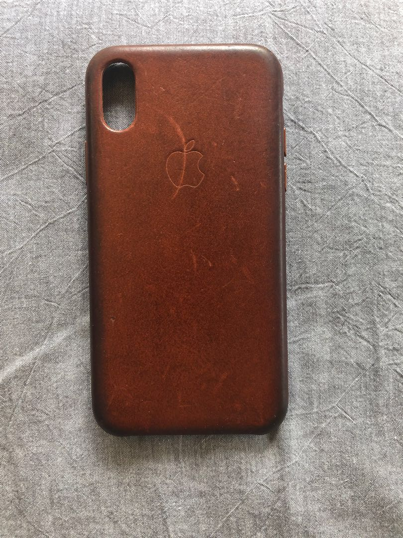 outlet store 5b5ab 62011 Authentic Apple iphone X leather cover