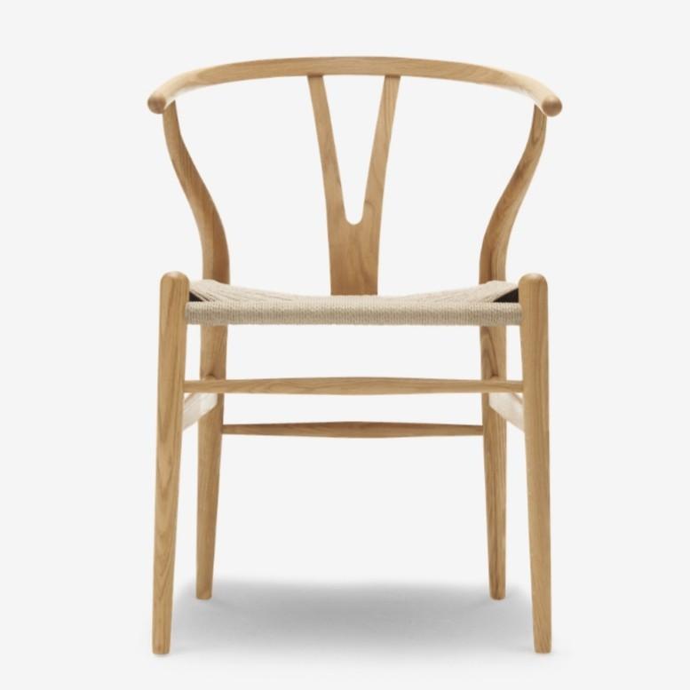Enjoyable Limited Edition Carl Hansen Wishbone Chair Ch24 Ncnpc Chair Design For Home Ncnpcorg