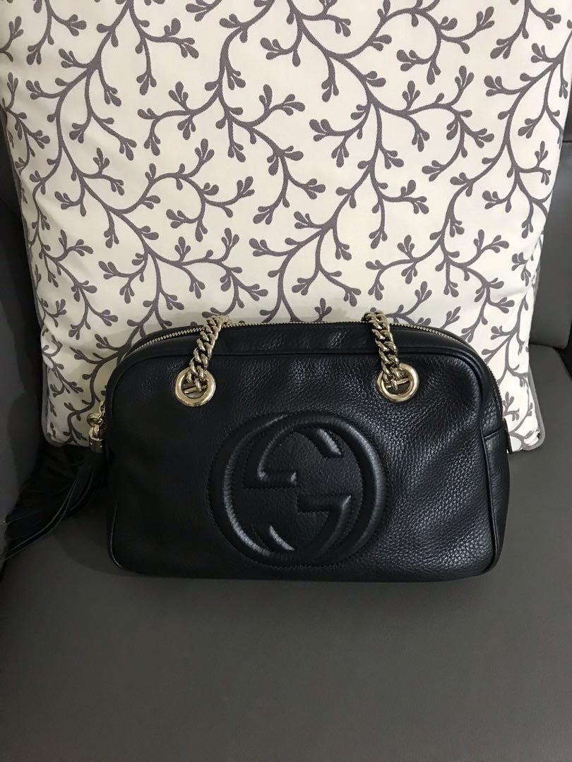 d7778cc6f47fa2 Authentic Gucci Soho Chain bag, Luxury, Bags & Wallets, Handbags on ...