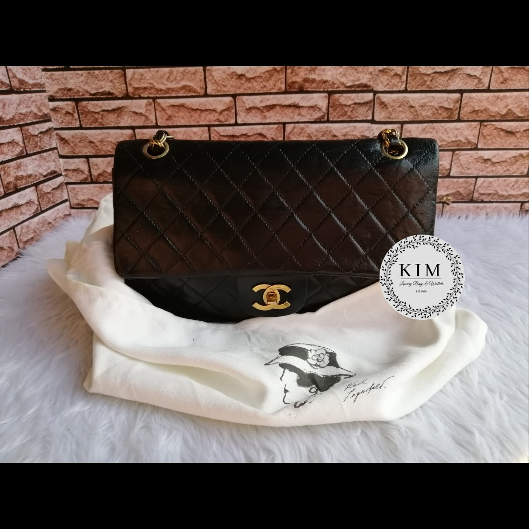 cef8ae63a1f2 Authentic Vintage Chanel 2.55 Double Flap Bag, Luxury, Bags ...