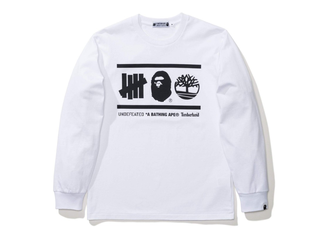 1ee04fa3 Bape X Undefeated X Timberland Tee, Men's Fashion, Clothes, Tops on ...