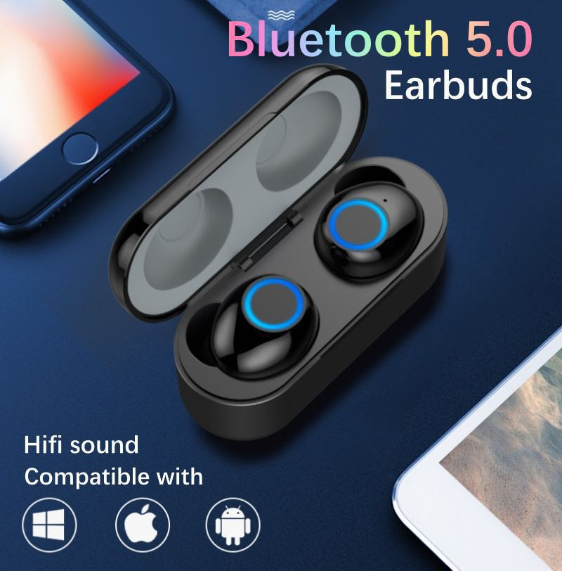 Bluetooth 5 0 Earbuds, Electronics, Audio on Carousell