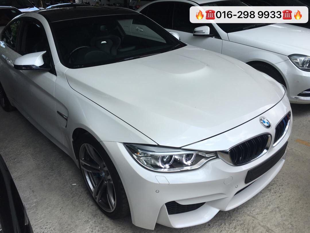 BMW M4 COUPE ✅3.0 twinturbo engine ✅Unregistered 2015