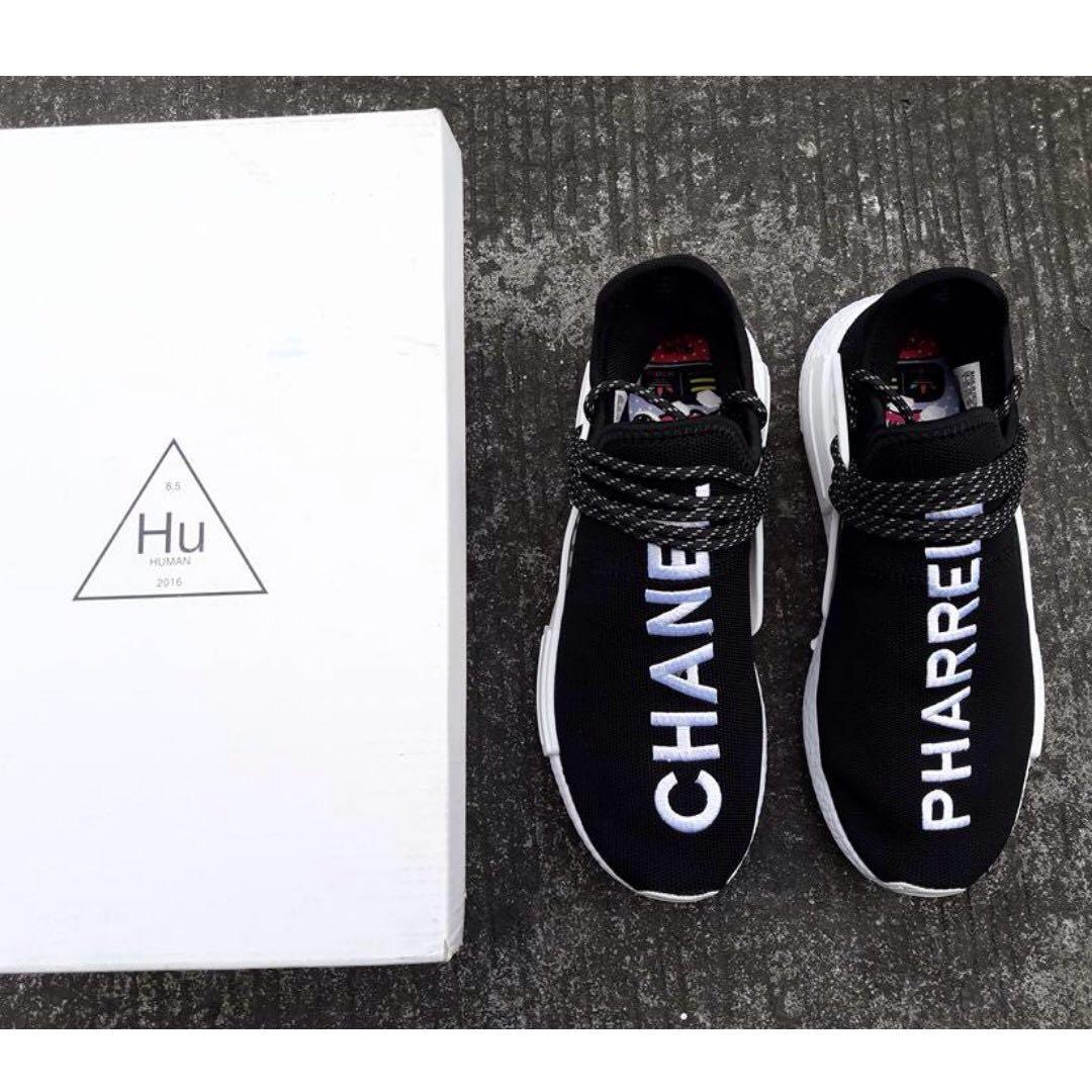 the best attitude a3182 5b524 Chanel x Pharrell x Adidas NMD Human Race Trail, Men's ...