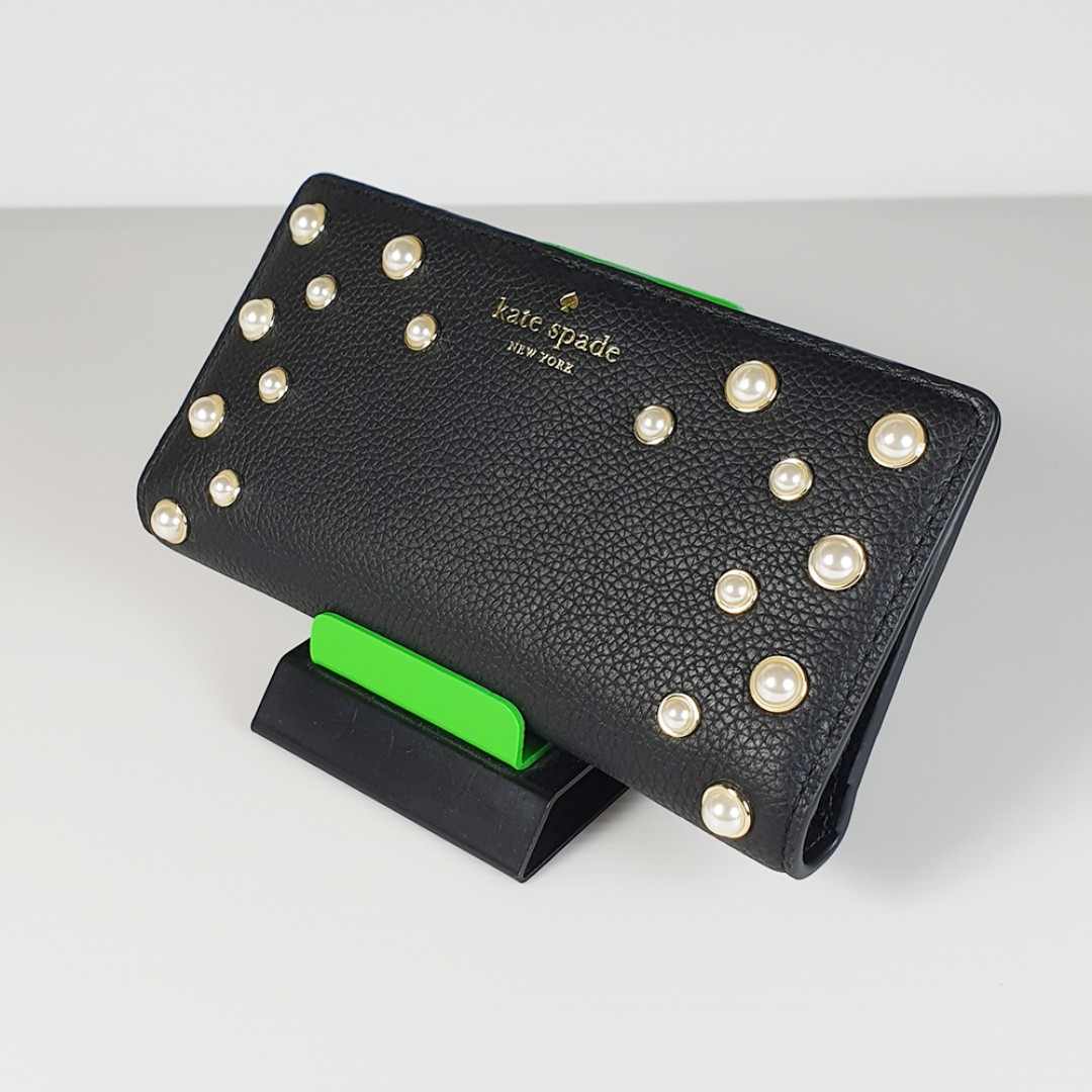 bede352d85bb Clearance Sale! Kate Spade New York Serrano Place Pearl Stacy Wallet Black