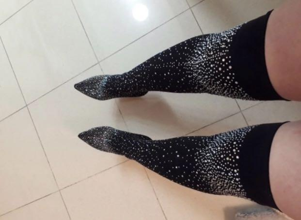 Crystal boots