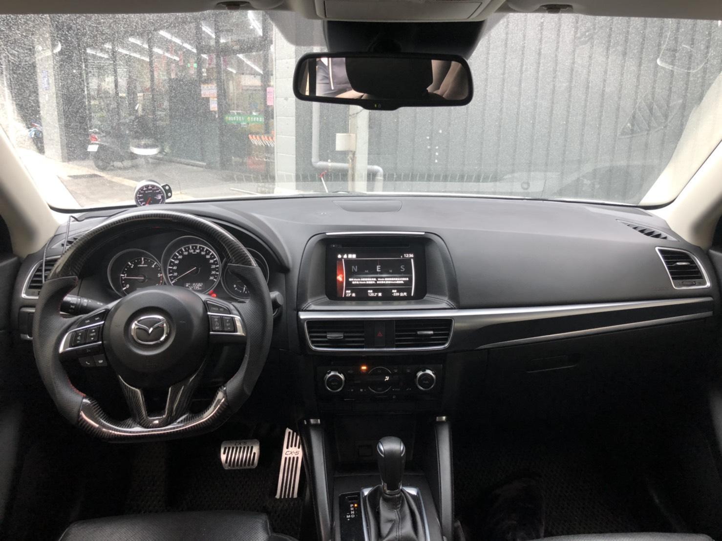 CX-5 頂配 全額貸 免頭款 低利率 找錢 車換車