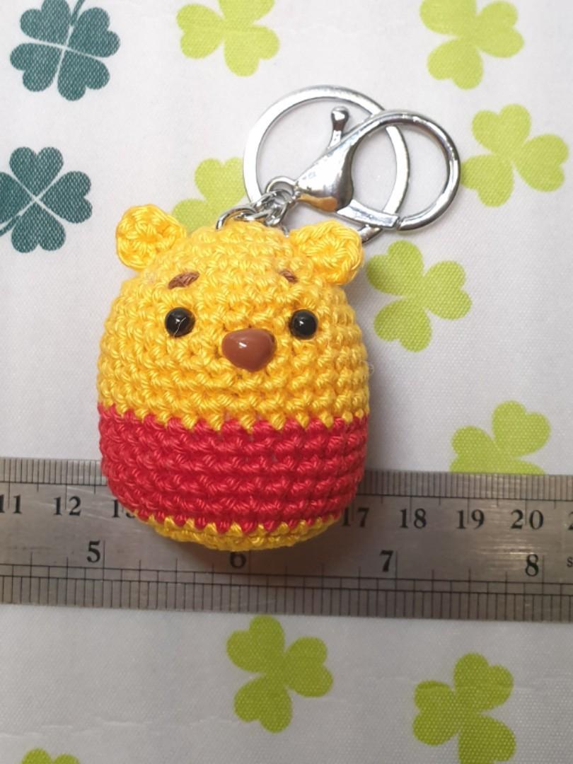 Mini Winnie The Pooh Tsum Tsum Crochet, Design & Craft on Carousell | 1080x810