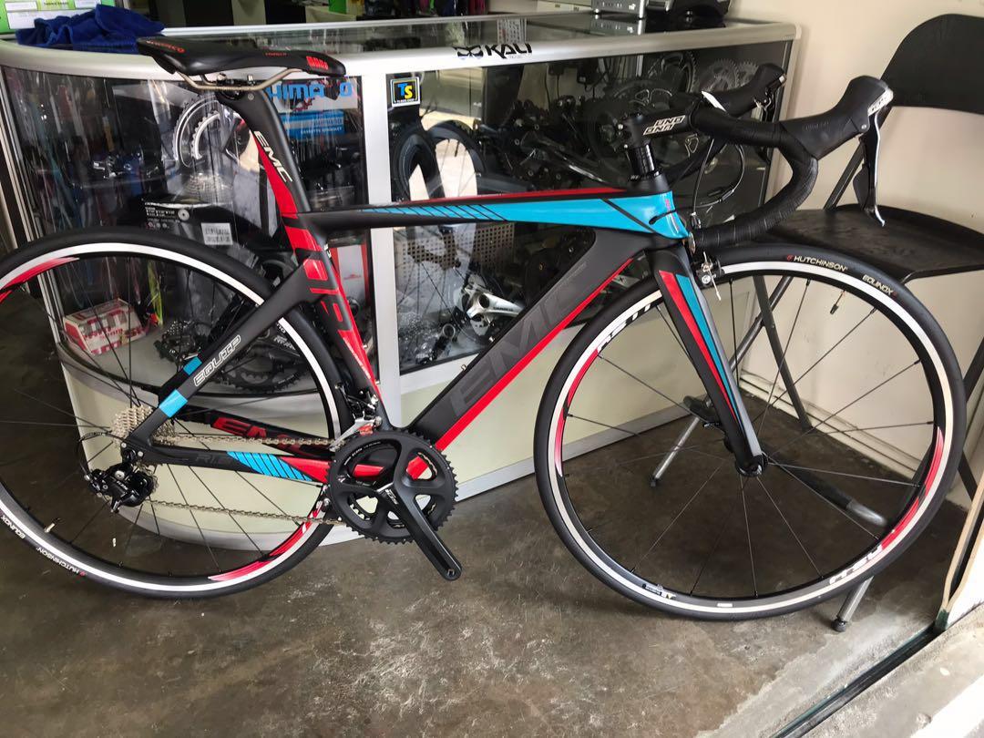 Emc r1 6 equip full carbon road bike