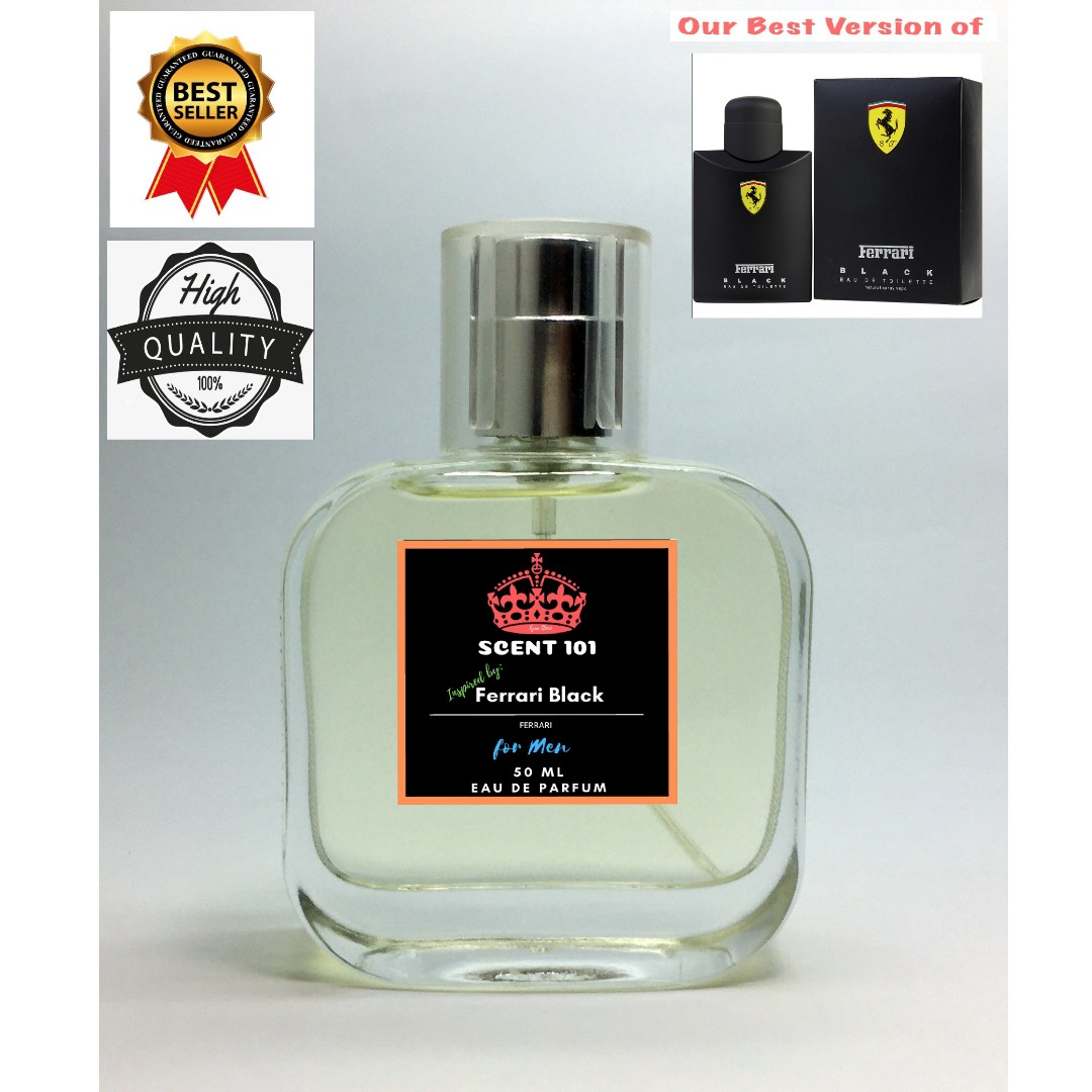 3379739cd Ferrari Black for Men - 50ml Perfume ( Inspired ), Health & Beauty ...