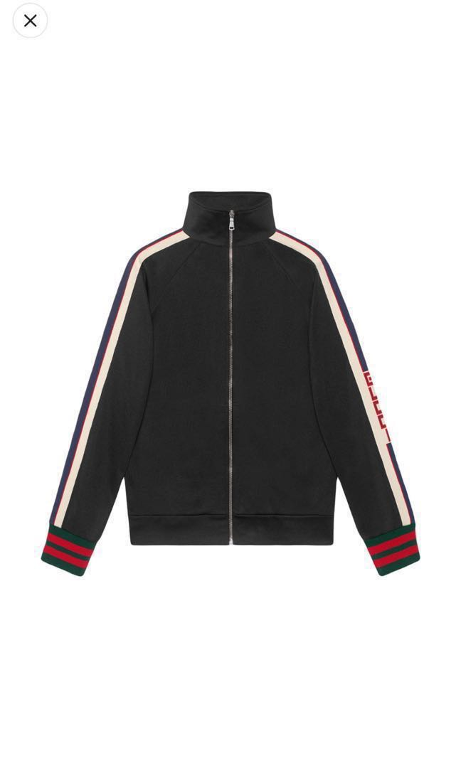6f80cb33f Gucci Technical Jersey Jacket, Men's Fashion, Clothes, Outerwear on  Carousell
