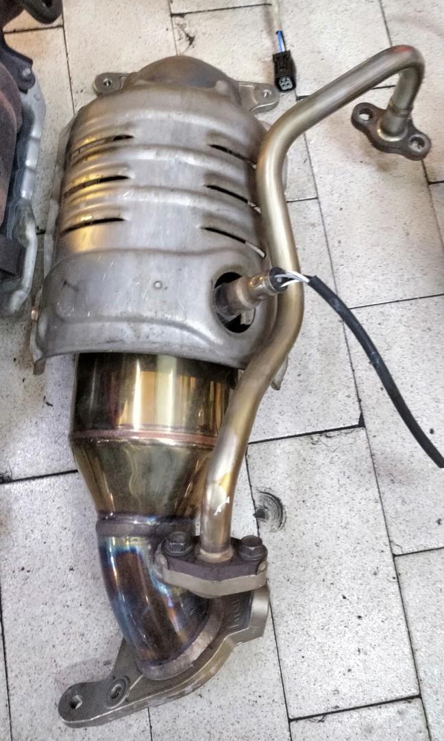 Honda extractor/header