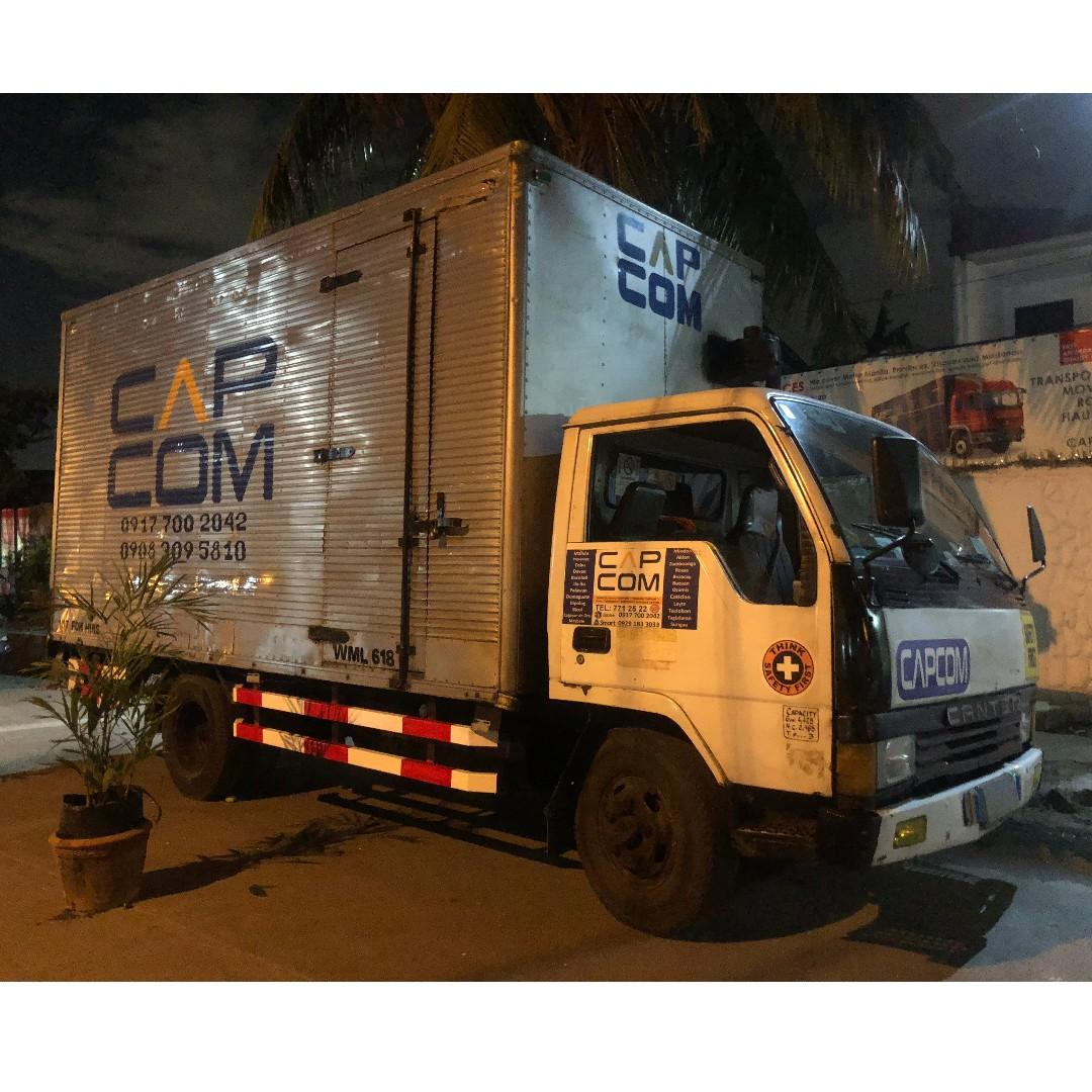 House moving movers condo office lipat gamit bahay truck for rent rental trucking services
