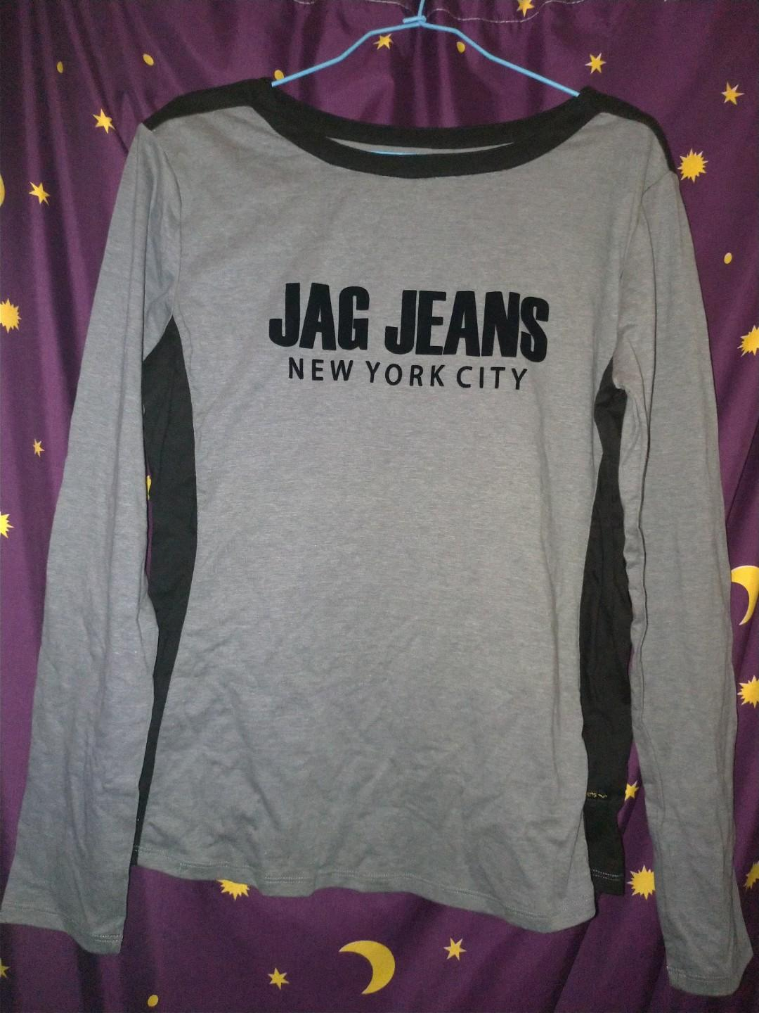 Jag Black Womens Shirt longsleeve