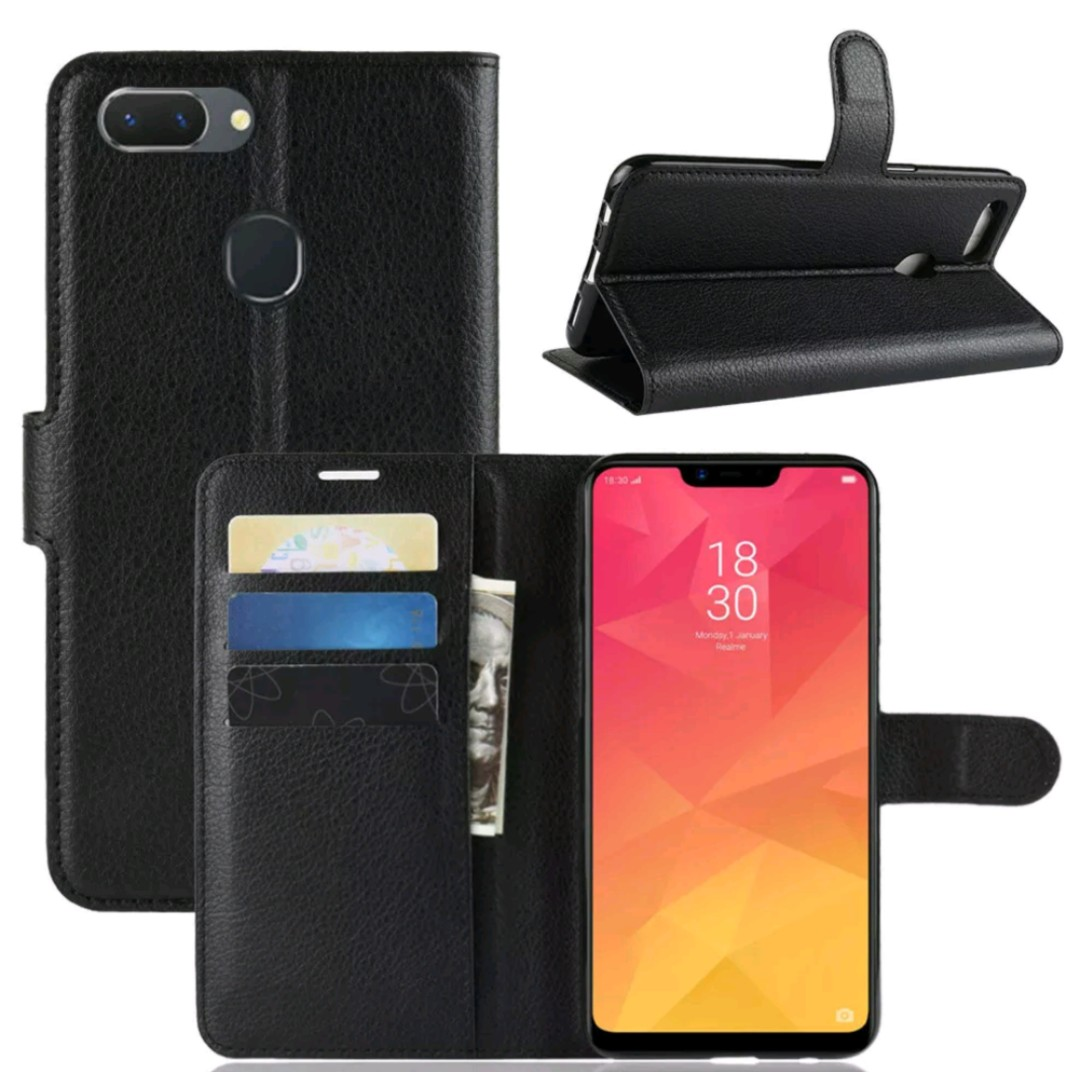 best service ea8e1 7e2e1 Leather slot wallet stand flip Cover Case For OPPO A5