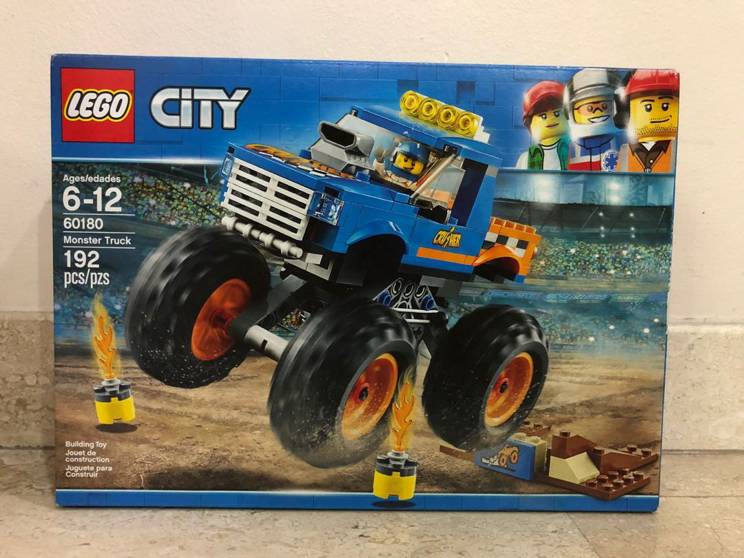 60081 Town Sealed Pickup City New Free Lego Truck Tow wO80vnmN