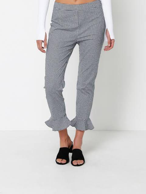 Lulu + Rose gingham pants
