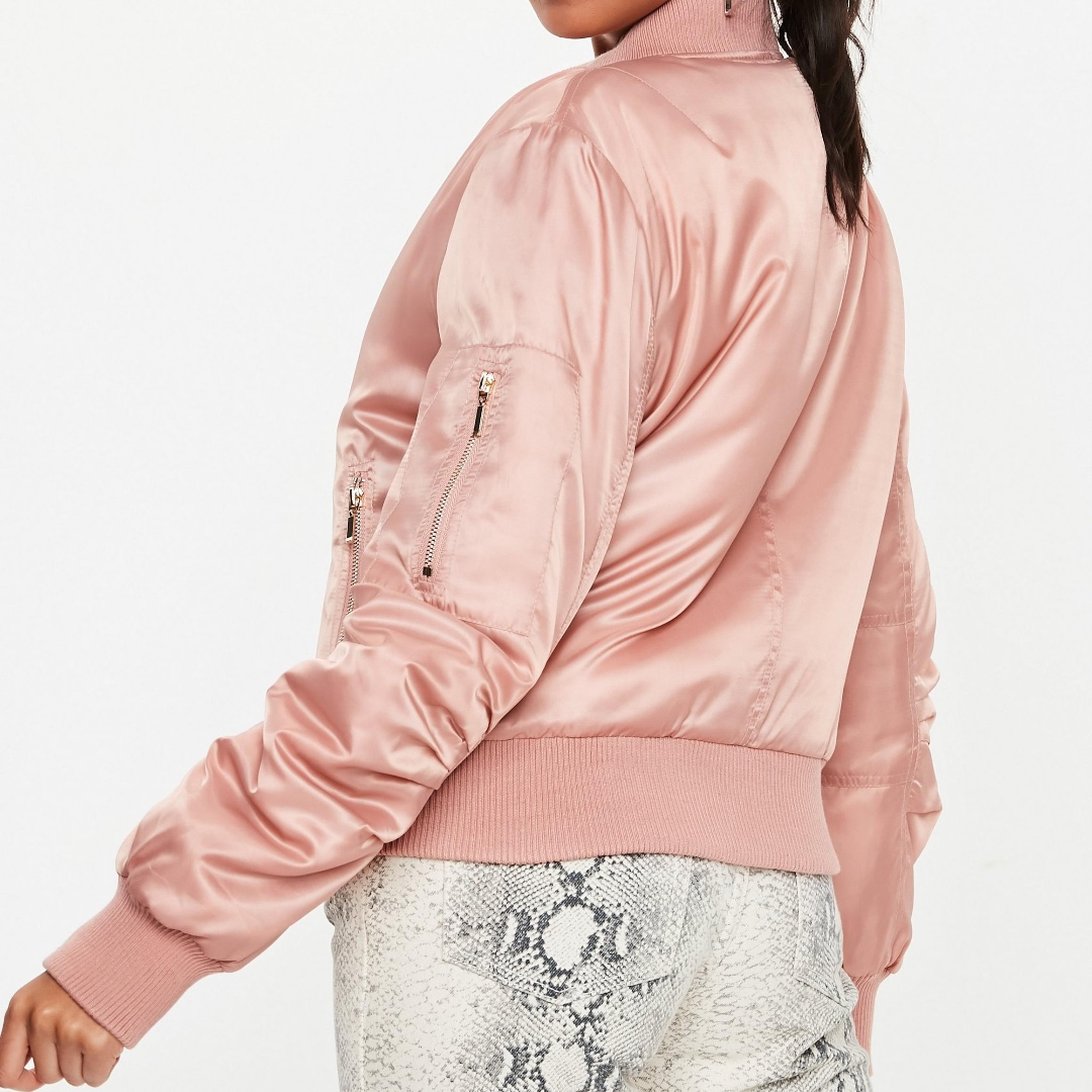 216dd037599 MISSGUIDED Pink Ultimate MA1 Bomber Jacket