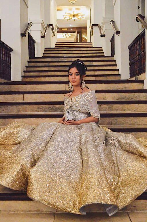 Modern Filipiniana Gown For Rent Women S Fashion Clothes